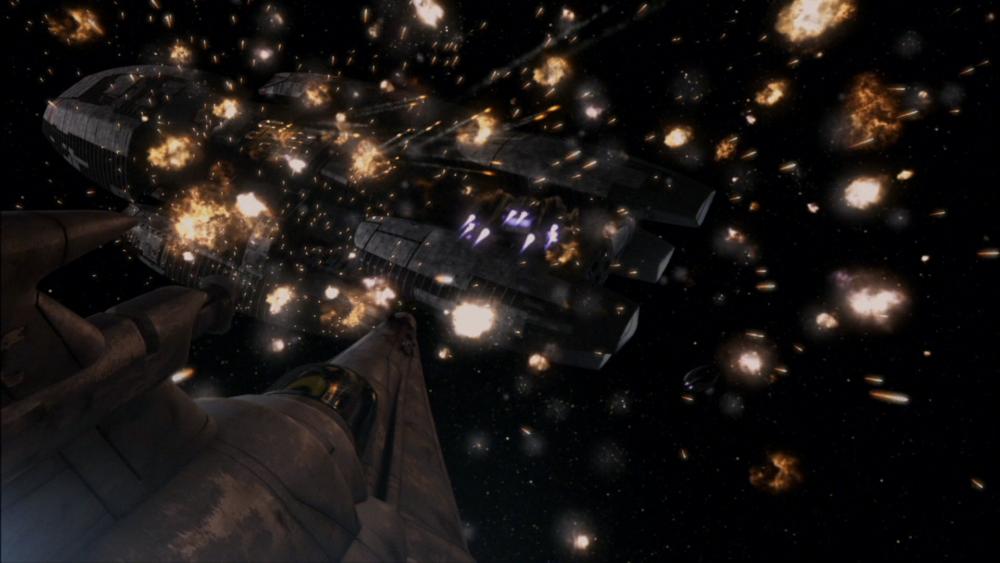 Battlestar Galactica - bitwa