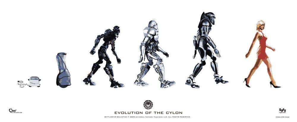 Battlestar Galactica - ewolucja Cylonów