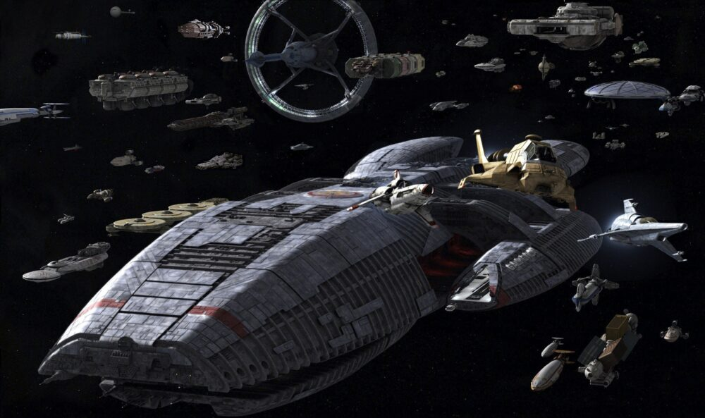 Battlestar Galactica - flota