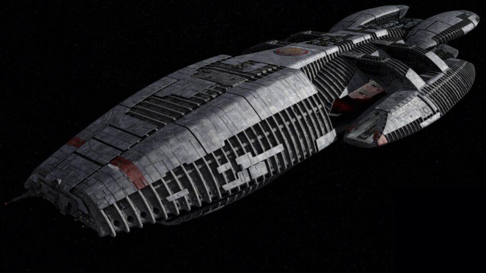 Battlestar Galactica - okręt
