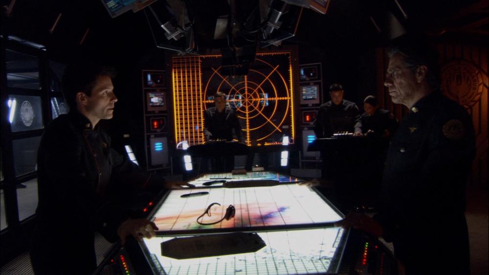 Battlestar Galactica - wnętrze
