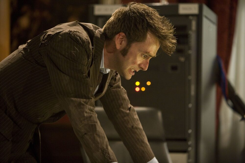 Doctor Who - Dziesiąty - końcowe sceny