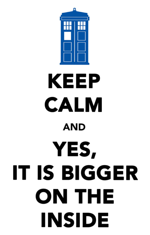 Doctor Who - Keep Calm