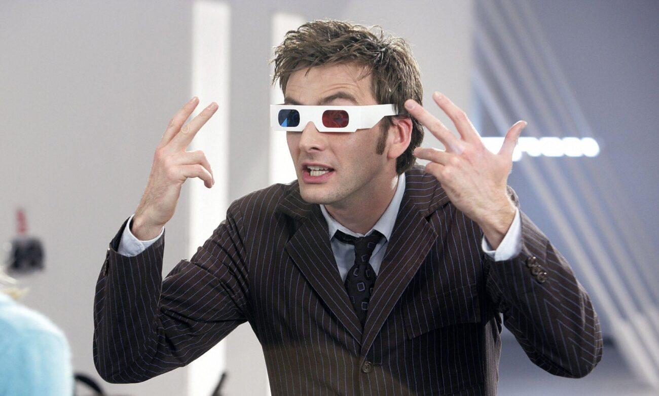 Doctor Who - Dziesiąty - okulary 3D