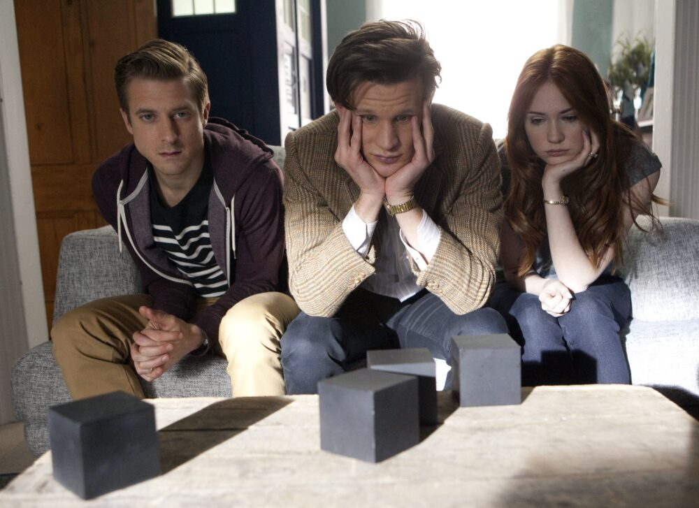Doctor Who - Jedenasty, Amy, Rory i nuda