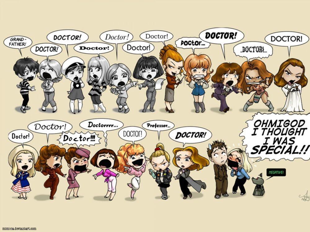 Doctor Who - wszystkie Towarzyszki