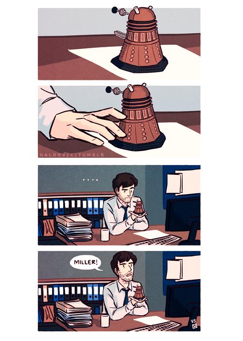 Halorvic – Hardy and Dalek