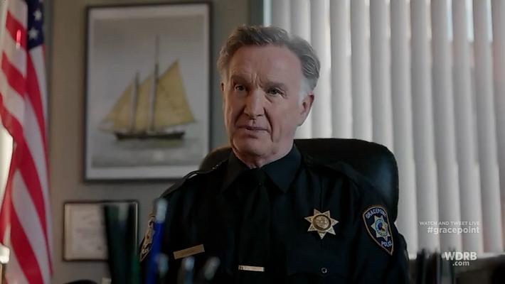 Gracepoint - szef policji