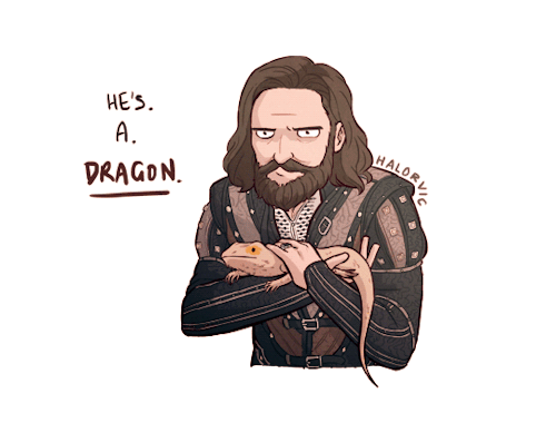 Halorvic – He's. A.Dragon