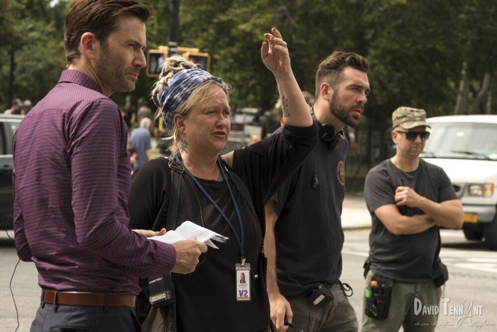 Jessica Jones - sezon 2 - Jennifer Lynch iDavid Tennant na planie