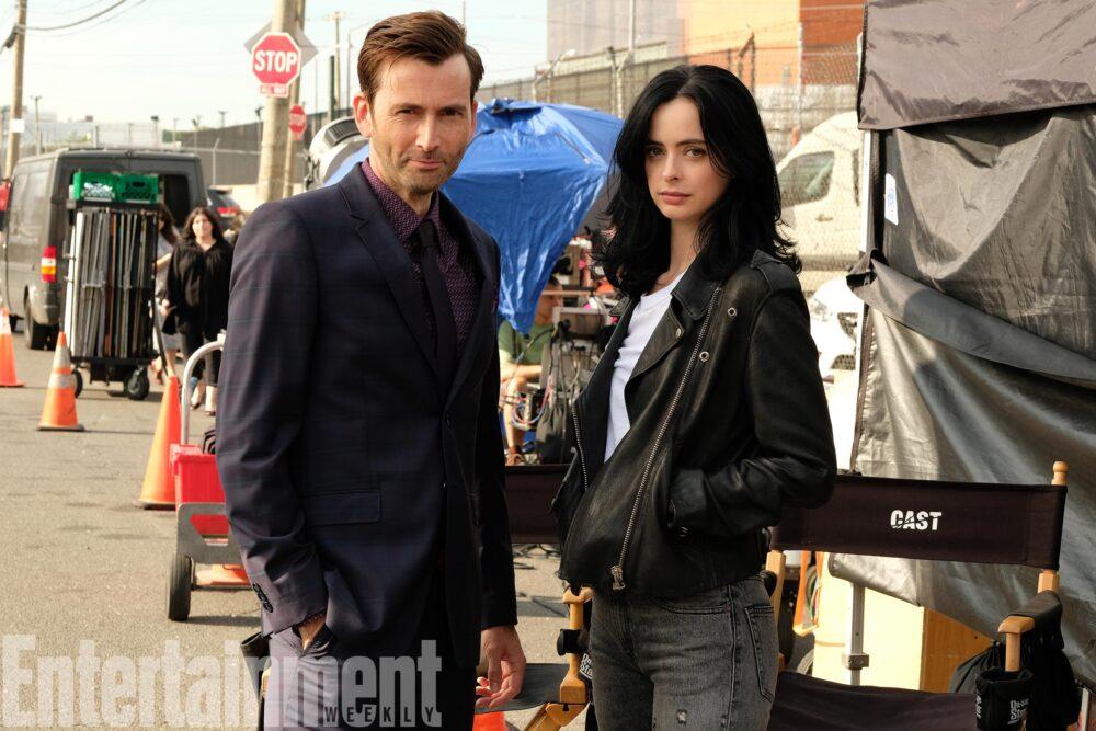 Jessica Jones - sezon 2 - Krysten Ritter iDavid Tennant na planie 1