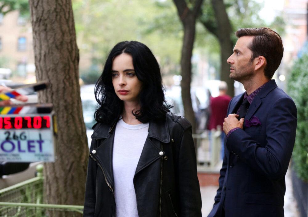 Jessica Jones - sezon 2 - Krysten Ritter iDavid Tennant na planie 2