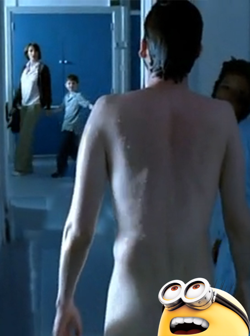 Recovery - naked David Tennant