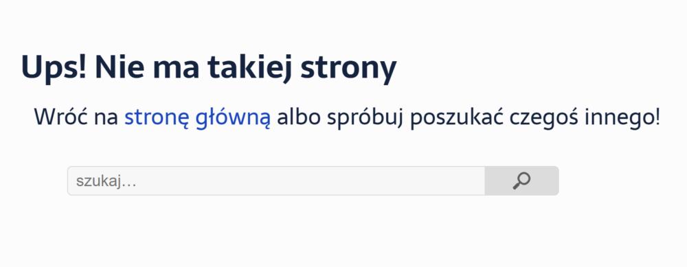 Błąd 404 – JoannaHoly.pl