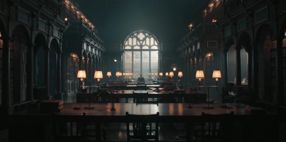 Księga Czarownic - Biblioteka