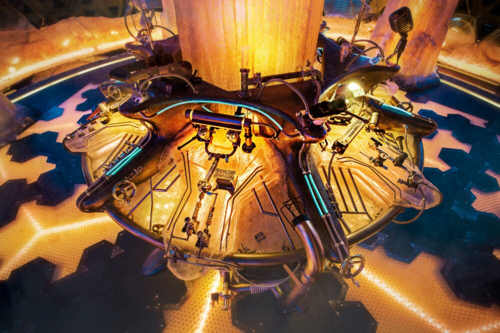 Doctor Who - TARDIS Trzynastki - konsola sterująca