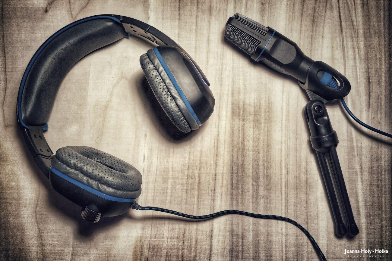 Słuchawki i mikforon