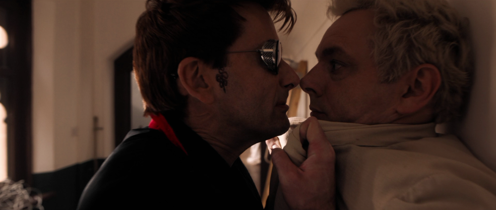 Good Omens – Crowley i Aziraphale