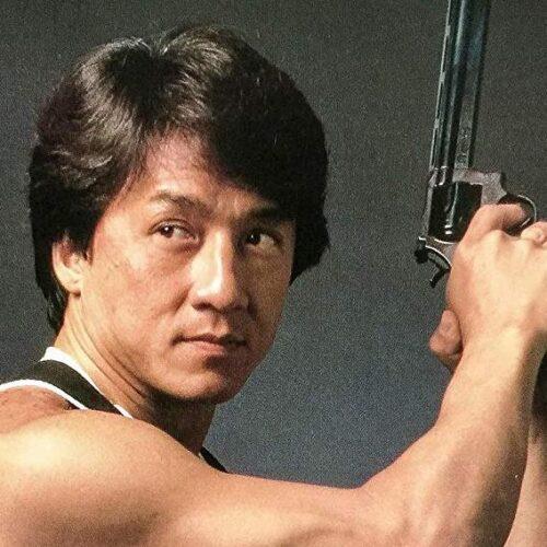 Młody Jackie Chan