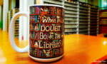 Risa Rodil – When in doubt go to the library – kubek
