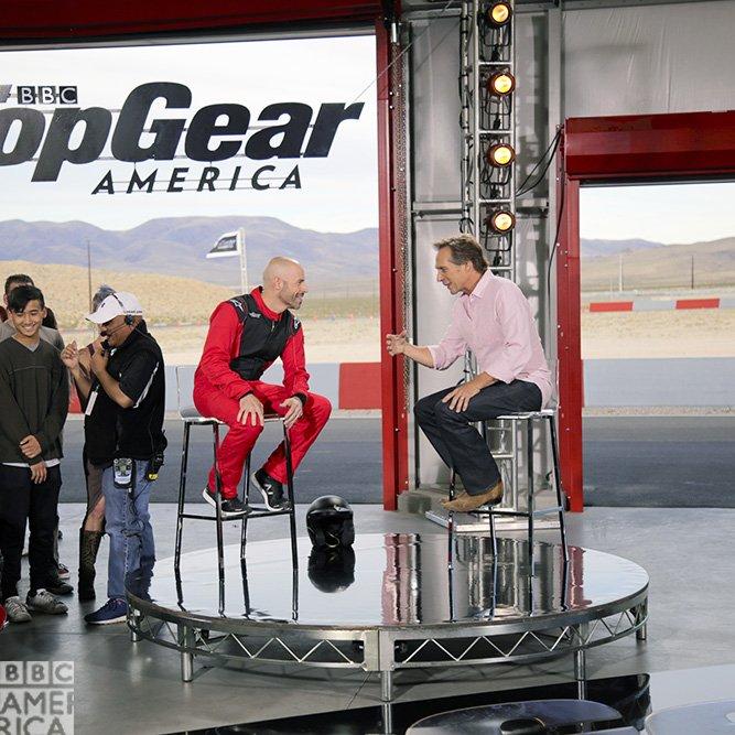 Top Gear America - Studio - William Fichtner